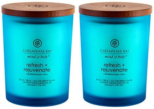 Chesapeake Bay Candle Duftkerze erfrischen + verjüngen Medium (2-Pack) -