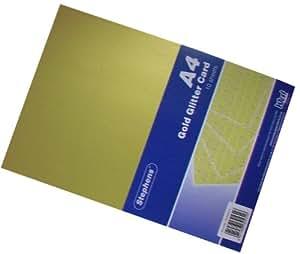 Stephens papier brillant dor a4 220 g m for Fourniture bureau papier