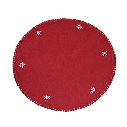 Weihnachtsbaumdecke-Weihnachtsbaum-Rock-Decke-Wollfilz-Weihnachtsbaum-Rock-Brtigen-Alten-Mannes-Weihnachtsbaum-Baum-Mat-Weihnachten-Basisdecke-100cm-Christbaumdecke-Christbaumstnder-Decke