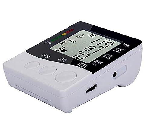 Tensiomètres® Moniteur de pression artérielle, machine à pression artérielle avec boîtier portatif, deux modes d