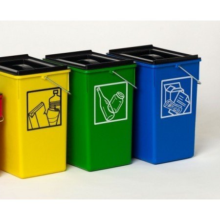 PLASTICOS HELGUEFER - Cubo Ecologico Selectivo 15L