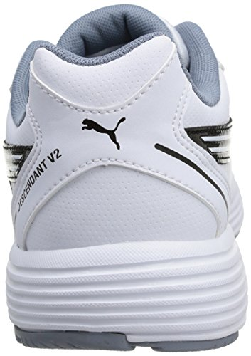 Puma Descendant V2 Sl, Running Entrainement Adulte Mixte Blanc (White/Black)