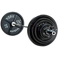 York 300 lb. 2 International Olympic Set