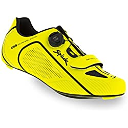 Spiuk Altube Road C Zapatilla, Unisex Adulto, Amarillo/Negro, 45