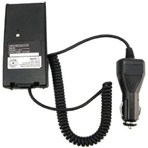 Radio de coche eliminador de batería del cargador del adaptador compatible para el ICOM IC-V8-V82 Ic A6 T3H F3Gs F11