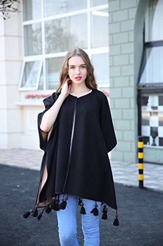 Coffeepop - Sweat-shirt - Duffle coat - Manches Longues - Femme Gris - Gris