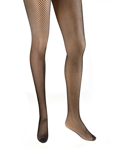 Netzstrumpfhose fein schwarz one size