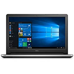 Dell Inspiron 15-5559 15.6-inch Laptop (6th Gen Core i3-6100U/4GB/1TB/Windows 10/Integrated Graphics), Silver