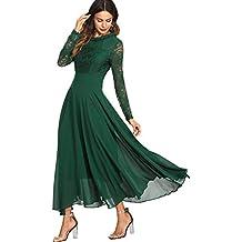 c0350a16b425 Suchergebnis auf Amazon.de für: Langarm Spitzenkleid - Grün