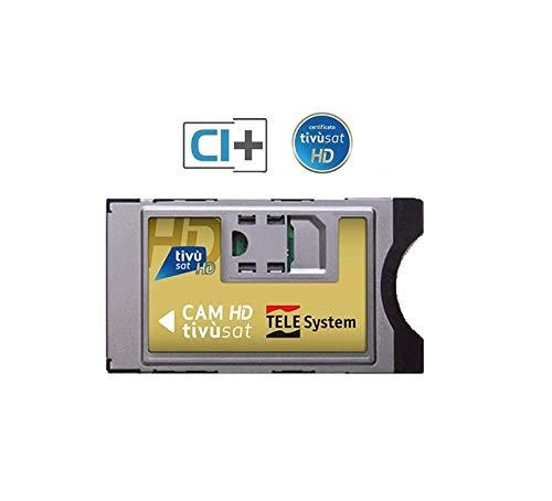 Tivusat HDTV-Modul Cam, ohne Karte, Silber