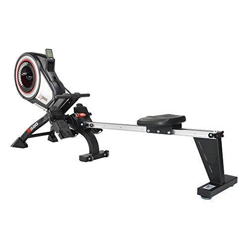 DKN-Unisex-R-320-Rowing-Machine-Black-One-Size