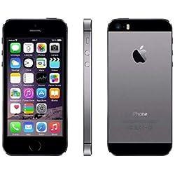 Apple iPhone 5S Gris Sidéral 16Go Smartphone Débloqué (Reconditionné)