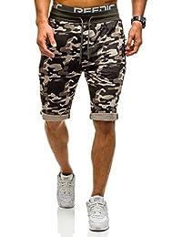 BOLF – Pantalons de sport – Pantalons courts – Short – Cargo – Military – Motif – Homme [7G7]