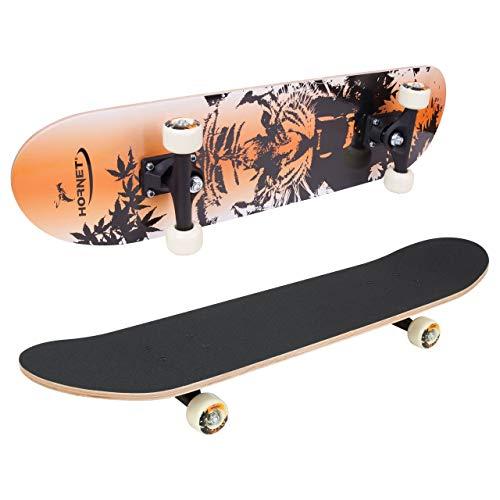HUDORA Hornet Komplettboard Skateboard Schwarz L