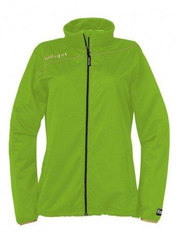 FanSport24 Kempa Gold Classic Jacke, Damen, grün/Gold Größe L