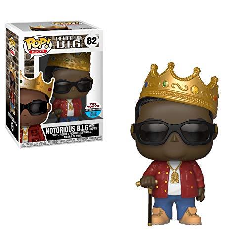 Funko Big 2018 NYCC Notorious with Crown Pop Vinyl