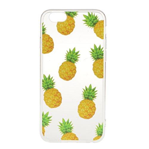 Ultra Dünn Weichen TPU Silikon Schutzhülle Hülle Case Cover für iPhone 6 6S Etui Bumper - Hirsch, Eine Größe spineapple