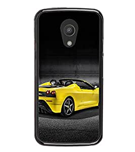 PrintVisa Open Roof Car High Gloss Designer Back Case Cover for Motorola Moto G2 :: Motorola Moto G 2nd Gen :: Motorola Moto G XT1068 :: Motorola Moto G 2nd Gen :: Motorola Moto G Dual SIM 2nd gen :: Motorola Moto G Dual SIM 2014