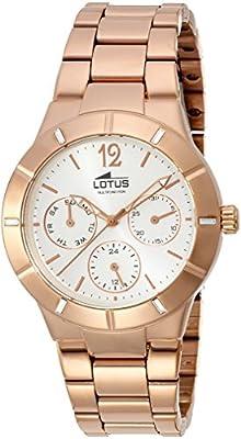 Lotus 15915/1 - Reloj de pulsera Mujer, Acero inoxidable de Lotus