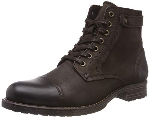Marc O'Polo Herren Lace Up Bootie Klassische Stiefel, Braun (Dark Brown 790), 43 EU