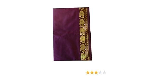 indischerbasar.de Sari t/ürkis Goldbrokat traditionelle Bekleidung Indien Tracht Wickelanleitung