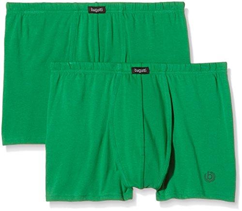 bugatti Herren Retroshorts Kaskade, 2er Pack Grün (Green)