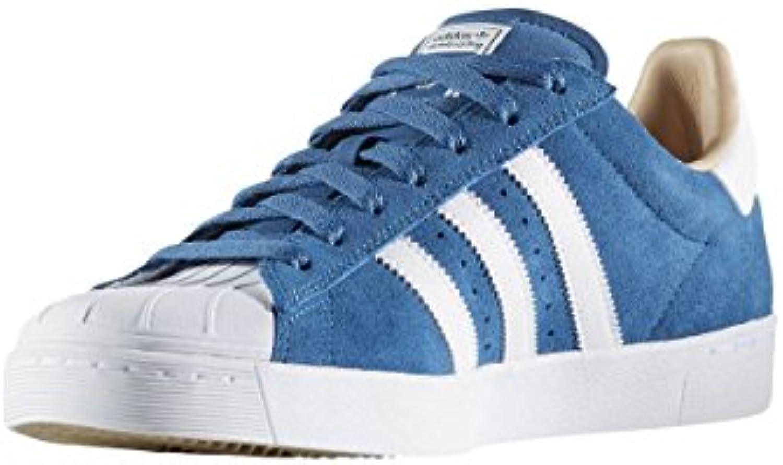 Adidas Skateboarding Bb8607 Superstar Vulc Adv blu bianca oro | Numeroso Nella Varietà  | Uomo/Donne Scarpa