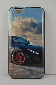 BlueArmor Soft Back Cover Case For Reliance Jio Lyf Wind 5 Design 1