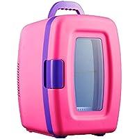 YUNJIE Mini Refrigerador Refrigerador Y Calentador,Compacto Y Portable Cables De Alimentación AC Y DC