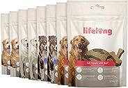 Amazon-Marke: Lifelong - Hundeleckerli, reich an Protein- Gemischte Auswahl: Lamm, Ente, Truthahn & Rind (