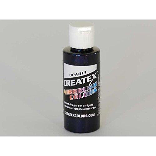 Createx 60 ml Paint, Opaque Black Test