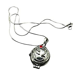Sungpunet Collana di Elena Gilbert da Vampire Diaries Ester SecrEte Plated Pendant Pendant Necklace Vintage X 1