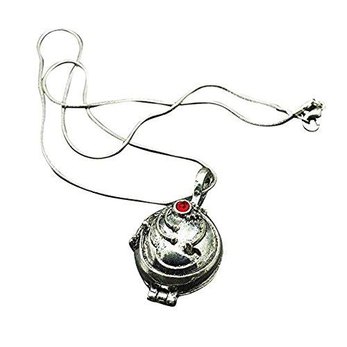 TrifyCore The Vampire Diaries Halskette Medaillon Silber- und Bronze Antik 2.4* 2.8cm (Bronze) 1pc