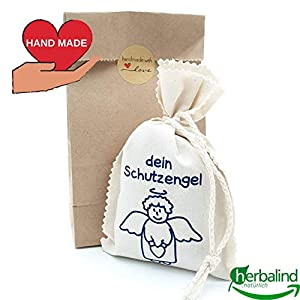 AKTION Hand Made Schutzengel Duftbeutel Lavendel – Glücksbringer Perfekt als Taufgeschenk Geschenk zur Geburt – HAND…
