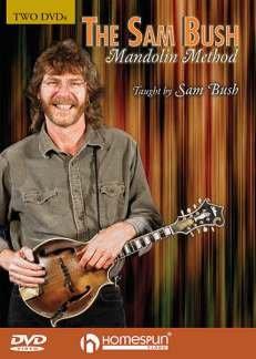 MANDOLIN METHOD - arrangiert für mit 2 DVD´s - Mandoline [Noten / Sheetmusic] Komponist: BUSH SAM