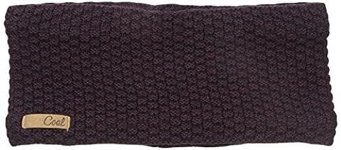 Coal Women's The Cameron Waffle Knit Headband, Plum, One Size