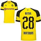 Puma BVB Borussia Dortmund Fußball Home Trikot 2018 2019 Herren Heimtrikot Axel Witsel 28 Gr M