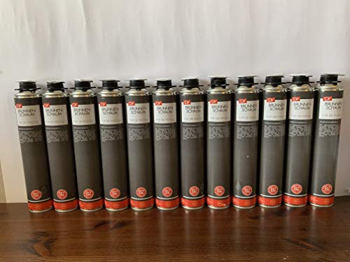 12 X Profi Schacht- und Brunnenschaum B2 Pistolenschaum 750 ml