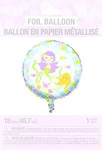 Suki Gifts s9317703Cumpleaños Globo Sirena Helium