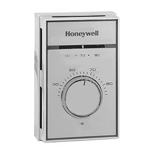 Honeywell T451A3005 Range 44-86F. with Thermometer, Locking Cover and Range Stops