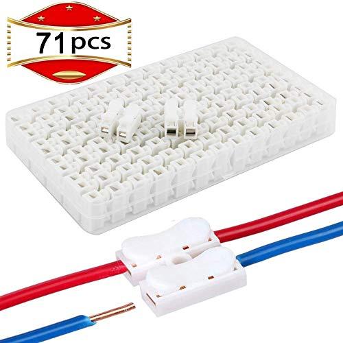 RUNCCI 71PCS Conector del cable de resorte CH2, conector de terminal de...