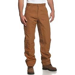 Pantalon pour homme Carhartt, W32/L34, marron, 1