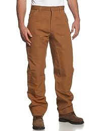 Carhartt Canard Double Pantalon de travail avant logg B01