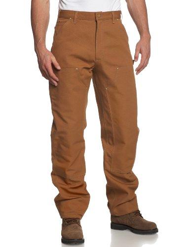 carhartt-canard-double-pantalon-de-travail-avant-logg-b01-couleurbrunpointurew32-l34