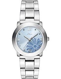 s.Oliver Damen-Armbanduhr Analog Quarz SO-1163-MQ