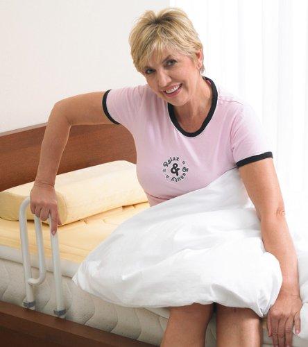 aktivshop Bett Aufstehhilfe Bettgriff - Für mehr Unabhängigkeit und Komfort, weiß