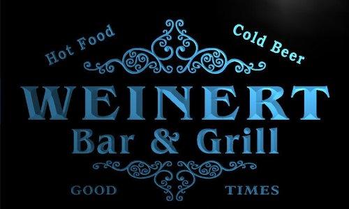 u47866-b WEINERT Family Name Bar & Grill Home Decor Neon Light Sign Barlicht Neonlicht Lichtwerbung