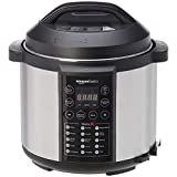Amazonbasics All purpose 23-in-1 Electric Pressure Cooker, 5.5 L, 1000 W, Brushed Stainless
