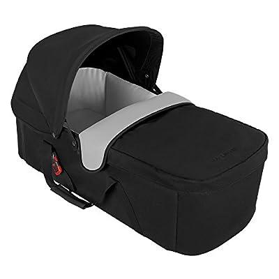 Capazo Maclaren: entorno plano para recién nacidos de hasta 20 lb / 25.6 pulgadas. Forro transpirable ultra suave, colchón impermeable acolchado. Se adapta Quest, Techno XT, Twin Techno.