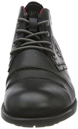 Bugatti 323397302600, Desert boots homme Schwarz (Schwarz)